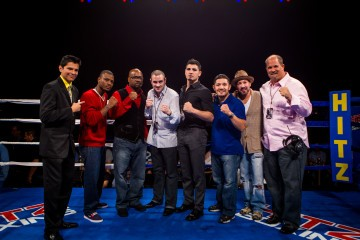 Bobby Hitz and some of Chicago's best boxers during a Hitz Boxing event at the Horseshoe Casino in Hammond, IN. | Photo by JoeyHill.com